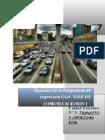Apuntes Unidad 03 - Transito y Capacidad Vial_2017