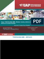 Farmacia y Bioquímica TOXICOLOGIA AMB