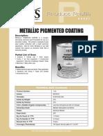 Metallic Pigment Ed