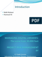 Managing Digital Libraries