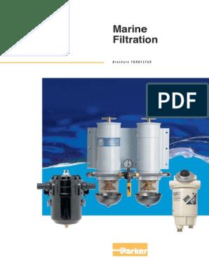 Racor//Parker S3214 Aquabloc Marine Engine Gas Filter Element