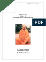 Bhagavad Gita Swamiji Lecture Chap12