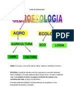 Clases de Agroecologia