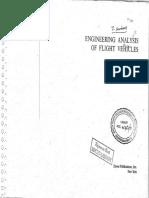 Engineering Analysis of Flight Vehicles Holt Ashley