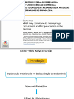 Seminário de Imunologia sobre pré-eclâmpsia