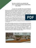 Informe de La Visita Al Museo