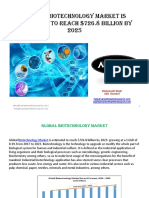 Global Biotechnology Market