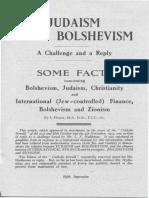 Judaism Bolshevism