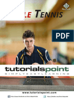 Table Tennis Tutorial