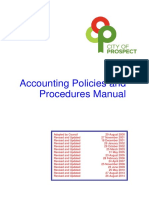 Accounting Policies Procedures
