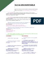 COUNTABLE and UNCOUNTABLE NOUN (INFORMACION).docx