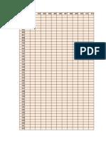 Matriz de Distancias -Ruta 02