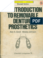 An Introduction to Removable Denture Prosthodontics - Churchill Livingstone September 1983