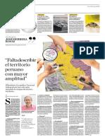 Falta Describir El Territorio Peruano Con Mayor Amplitud