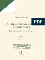 20180215-Domenico de Masi Alfabeto Da Sociedade Desorientada