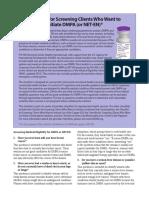 Checklist Dmpa English
