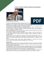 Ministro Do Stf Diz Que Vai Liberar 'Em Breve' Denúncia Contra Renan