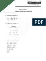 Mayo 2018 Matemática