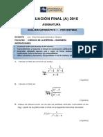 Evaluación Final - Por Sistema