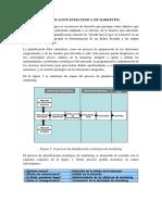 Planificacion y Organizacion de Las Actividades de Marketing