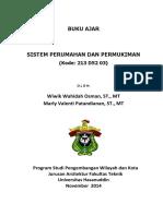 Wiwik Wahidah-sistem Perumahan & Permukiman