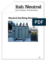 Swedish Neutral Neutral Earthing Resistor Specification