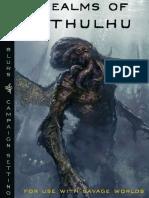 Savage Worlds - Realms of Cthulhu