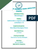 Actividad IV Metodologia i