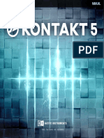 Kontakt 5 Application Reference English