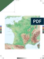 Carte France Physique 5400k 13
