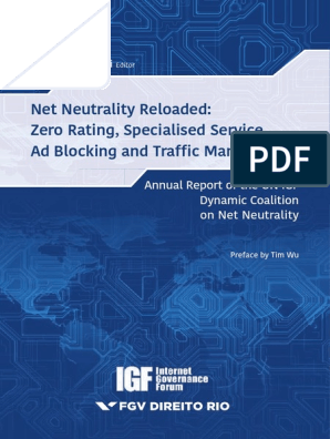 BELLI, Luca (Ed )  Net Neutrality Reloaded - Zero Rating