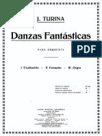 Joaquín Turina Danzas fantásticas
