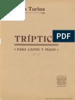 Tríptico Joaquín Turina