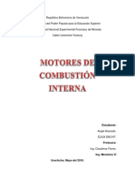 Informe de Combustion Interna