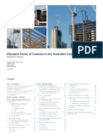 Research Report Standard Forms of Contract in the Australian Construction Industry
