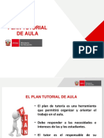 3. Plan Tutorial de Aula
