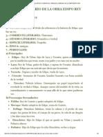 Recursos Completos_ Análisis Literario de La Obra Edipo Rey