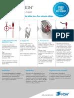 VDW Dental RECIPROCblue Usercard En
