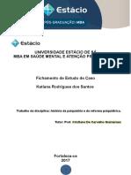 FICHAMENTO - Psiquiatria