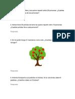 Problemas Multiplicación y División Simples