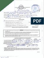 Darren Musselwhite campaign filing
