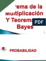 Teorema de La Multiplicacion y Probabilidades