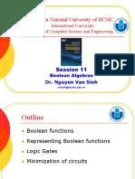 Session 11 - Boolean Algebras