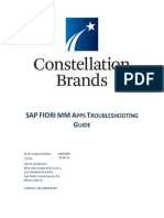 CBI FIORI Troubleshoot Guide V2