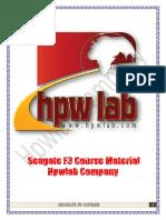 Seagate F3 Course Material