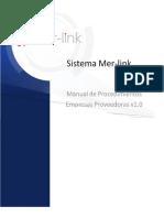 Manual de procedimientos Mer-link Proveedores  v1.0.pdf