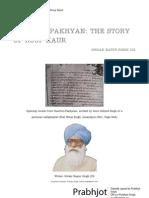 Charitropakhyan - Tale of Roop Kaur by Sirdar Kapur Singh ICS