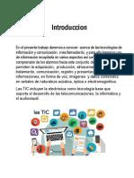 TECNOLOGÍAS DE INVESTIGACIÓN Y COMUNICACIÓN TIC