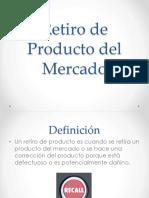 Retiro de Producto Del Mercado_PNO
