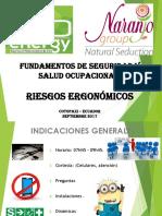 Ergonomía Administrativos Naranjo 2017